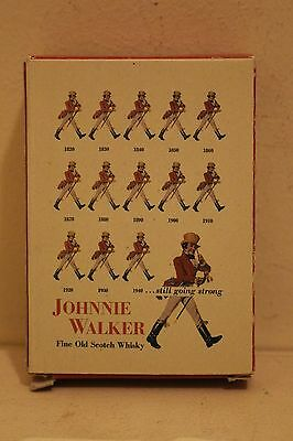 Vintage Johnnie Walker Scotch Whisky Deck Of Playing Cards