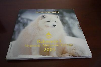 Finland - 2005/i Endangered Species In Finland Coin Set