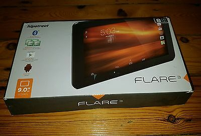 Hipstreet Flare 3 android tablet - 1.5ghz,9 inch screen,google certified device