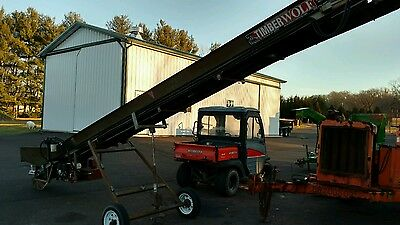 timberwolf firewood conveyor 2008 Honda powered belt elevator for wood splitter