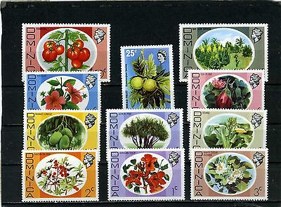 DOMINICA 1975 Sc#464-467 FLORA FLOWERS PLANTS SET OF11 STAMPS MNH