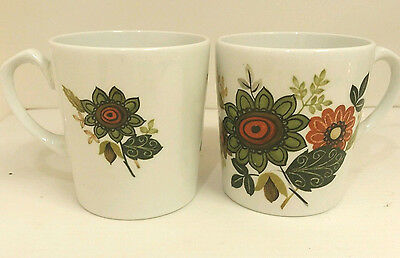 Alfred Meakin Glo white ironstone cups