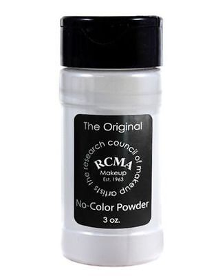 GENUINE RCMA MAKEUP NO COLOUR SETTING POWDER 3oz BRAND NEW
