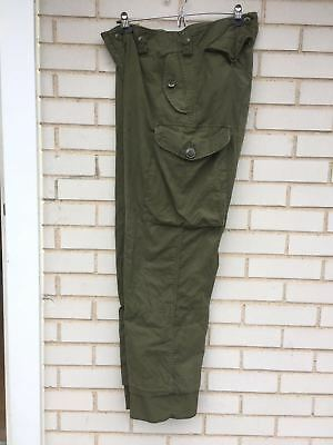 Genuine Canadian Army Lightweight  Combat Pants Trousers OD Green Size 7036