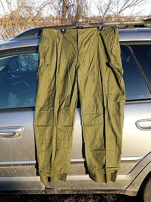 Canadian Army Lightweight  Combat Pants OD Green Size 7044 NEW