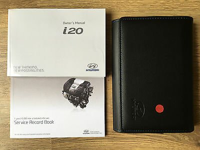 Hyundai I20 Owners Manual Handbook Pack With Wallet +Service 2014-2015 Ref3463