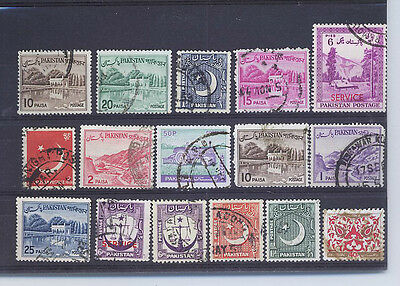 PAKISTAN  SMALL COLLECTION OF STAMPS P20 r
