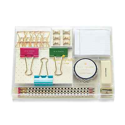 KATE SPADE - Office Supplies Tackle Box - Whistle While You Work
