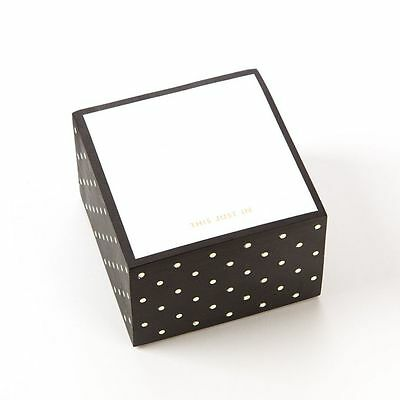 """KATE SPADE Sticky Note Set """"This Just In"""""""