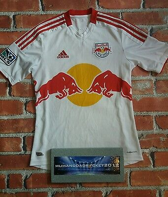 RARE  New York Red Bulls Jersey AWAY Football Shirt SMALL MENS LOVELY SHIRT