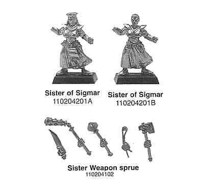 Mordheim / Fanatic games / Sister of Sigmar / Very Rare / Fanatic / Sisters