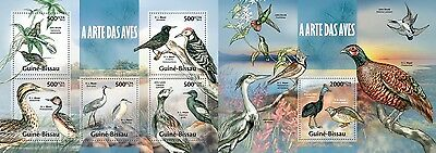 GB13318ab Guinea-BISSAU 2013 Bird Art MNH SET
