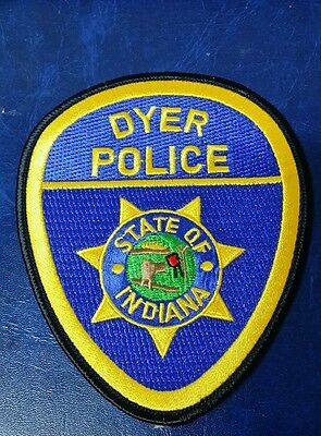 Dyer, Indiana Police Shoulder Patch In