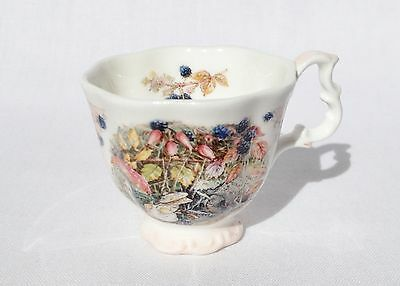 Miniature Brambly Hedge Autumn Tea Cup  - Royal Doulton China - 1st Quality