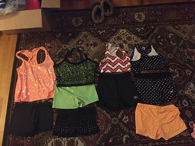 Lot of 10, Dance and Varisty Cheer clothes