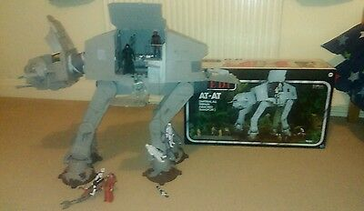 Vintage Star Wars At At Walker Endor Version