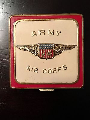 WWII US Army Air Corps Sweetheart Makeup Compact