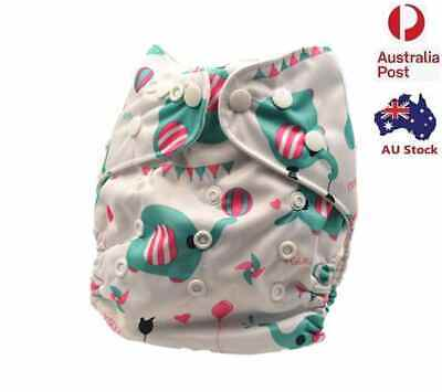 Washable Reusable Waterproof Unisex Modern Cloth Nappies Baby Diapers (D149)