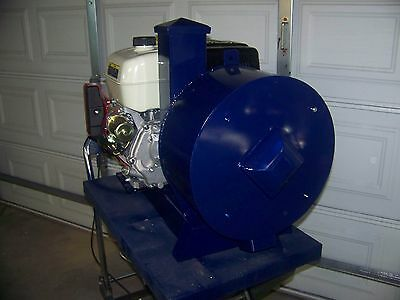 "14"" Portable Rock/glass Crusher, Gas Engine 4 Hammers, 2 3/4"" Rock /item"
