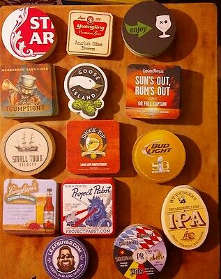 280 beer coasters. STOCK YOUR MAN CAVE.