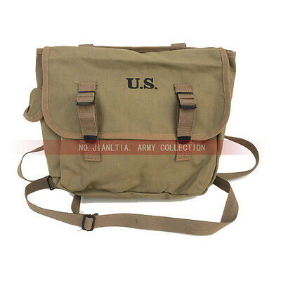 M1936 M36 Mussette Field Bag Backpack Haversack Khaki WW2 Collection