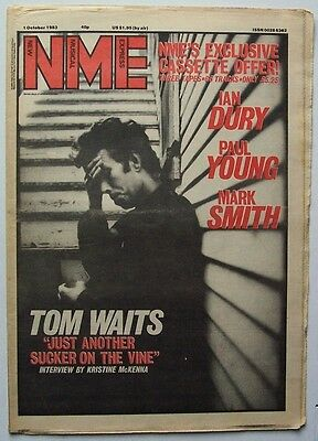 Nme 1983 Apr 17 Tom Waits The Fall Kiss Gang Of Four