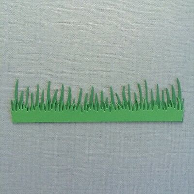 Scrapbooking grass die cuts x 8 pieces for cardmaking