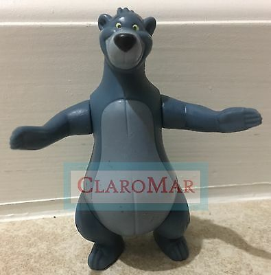 ☀️ Disney Baloo Bear Figure JUNGLE BOOK McDonalds 2003 Toy Cake Topper