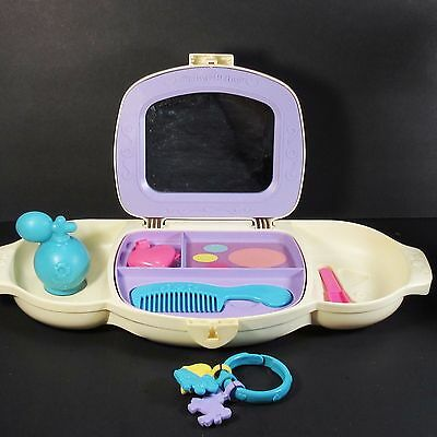 Fisher Price Dress Up Vanity with Accessories and Key vintage