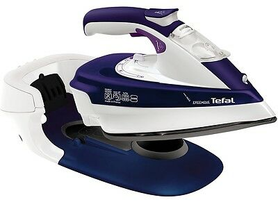 Tefal Cordless Steam Iron 2400W Electric Handheld Clothes Garment Steamer NEW