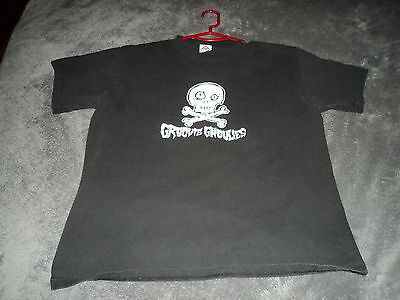 Groovie Ghoulies Skull Logo T-SHIRT Pop Punk Horror Queers Green Day Kepi