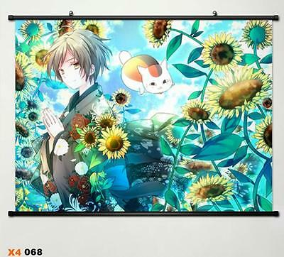 Natsume's Book of Friends Takashi Natsume Japan Home Decor Poster Wall Scroll 68