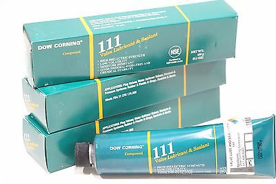 Lot of (3) NEW Dow Corning Molykote 111 Compound 5.3oz (150grams)