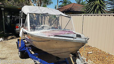 12Ft Clark Cutter Dinghy Runabout 25Hp Mercury 2 Stroke Fwd Controls