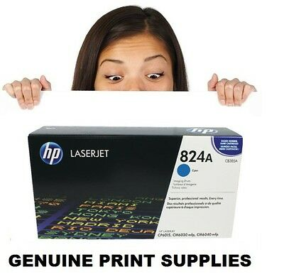 Genuine HP 824A Cyan Drum CB385A (Box Damaged) 6015 6030 6040