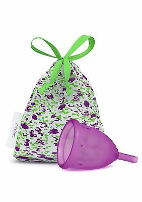 Coupe menstruelle LadyCup prune Talle S