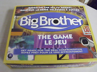 Big Brother Board Game Replacement Pieces Only