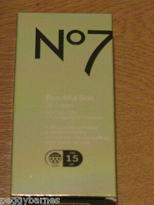 No7 Beautiful Skin BB Cream for Normal / Oily Skin SHADE FAIR 40ml NEW/BOXED