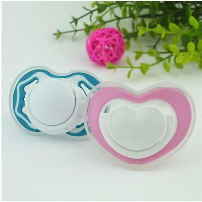 Newborn Baby Kids Orthodontic Dummy Pacifier Infant Silicone Teat Nipple Soother