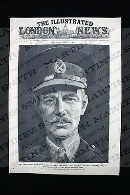 WWII The Illustrated London News 1945, Sir Miles Dempsey, Rhine Massed Assault