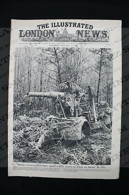 WWII The Illustrated London News 1945 - The Campaign in Burma, Snow Battlefields