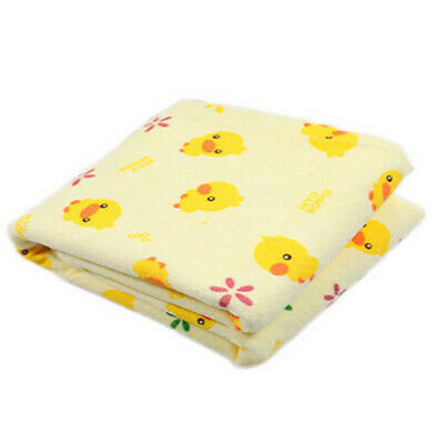 Infant Baby Home Cute Soft Cotton Waterproof Urine Pad Mat Cover Changing Pad