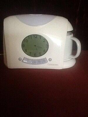 Cookworks Signature Teasmade -Auto and tea now.used only as digital alarm clock