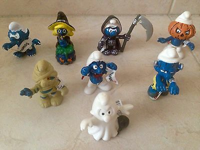 Puffi Serie Halloween Completa Germany Made In China FAKE