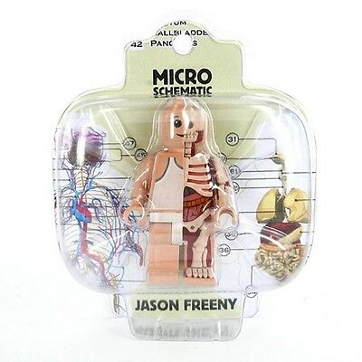 "Jason Freeny Micro Schematic 3"" Lego Figure by Mighty Jaxx - OUT OF PRODUCTION"