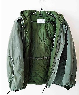IDF Israel Windproof Parka Dubon Jacket W Zahal Signs  Authentic Large LSize