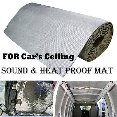 23Sqft 236mil Car Ceiling Roof Sound Deadener Heat Insulation Mat For Dodge Ram*