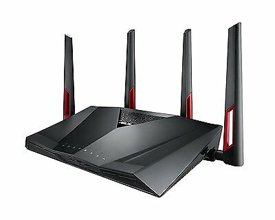 ASUS RT-AC88U Wireless Dualband AC3100 Pro-Gamer WLAN Router