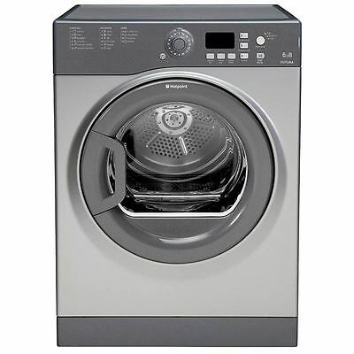 Hotpoint 6kg, B Rated Vented Tumble Dryer Graphite FTVFG65BGG