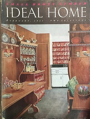 Ideal Home Magazine February 1953   Small Home Edition